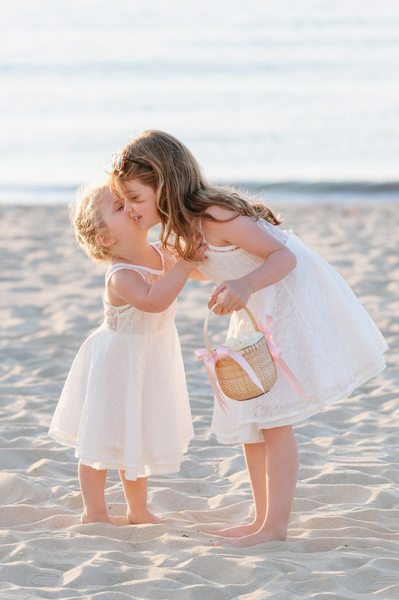 Flower girls at Galley beach