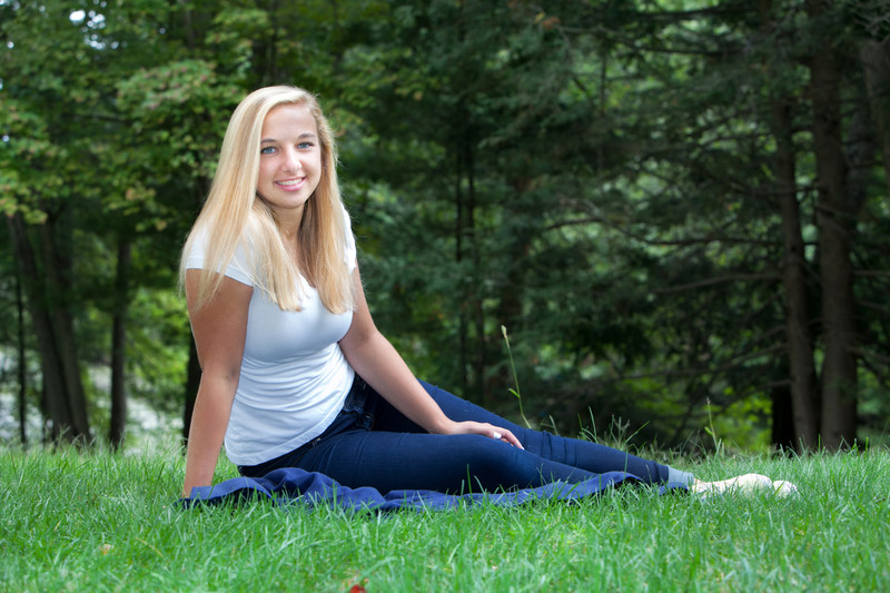 Taylor Thompson Senior Portrait September 15, 2014