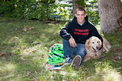 John Petracone Senior Portraits September 17, 2013