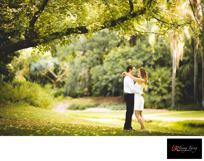 Melbourne Elopement Photography: environmental portrait