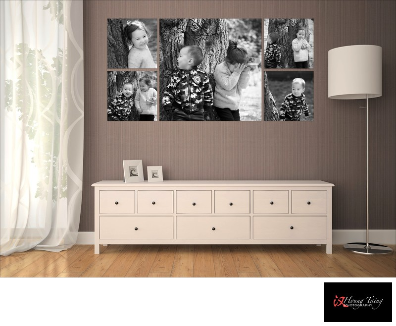 Melbourne Family Photography wall art composition