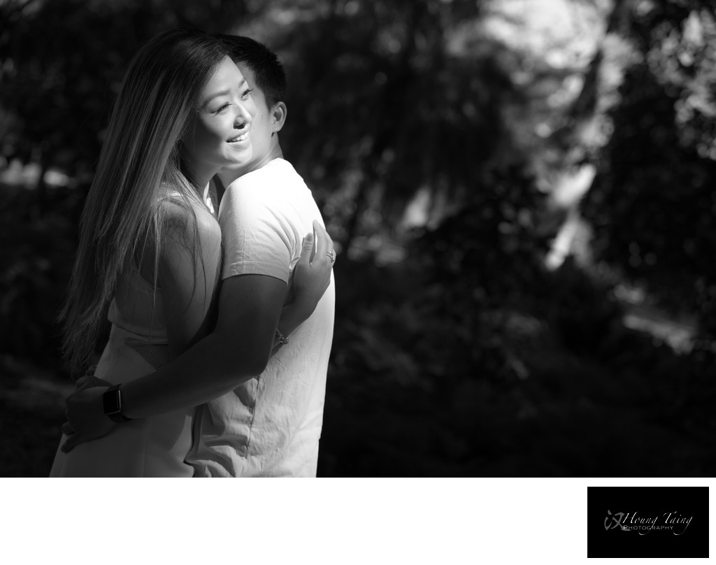 Melbourne Couples Portrait Photography: Natural Light