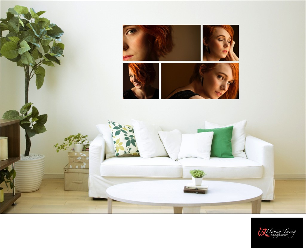Melbourne Portrait Photographer Wall Art Print Style