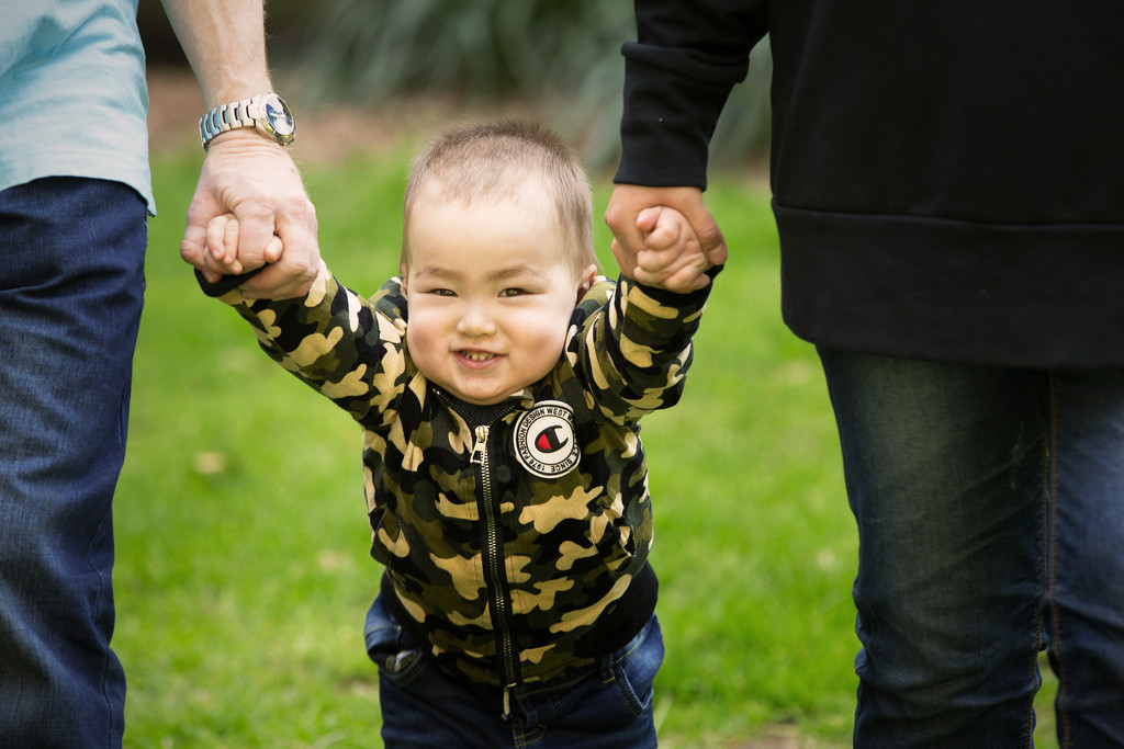 Best Melbourne Family Photographer: candid son photos