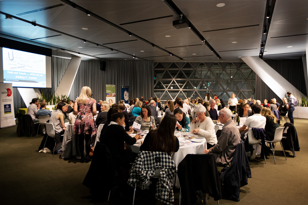 Melbourne Events Photographer: Health Expert Banquet
