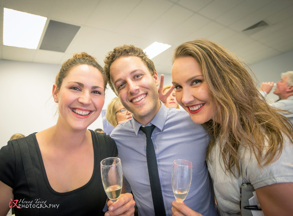 Melbourne Event Photography: cocktail evening guests