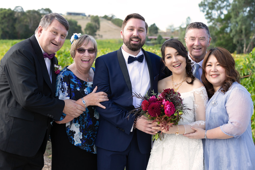 Traditional Melbourne Wedding Photography: Family Photo