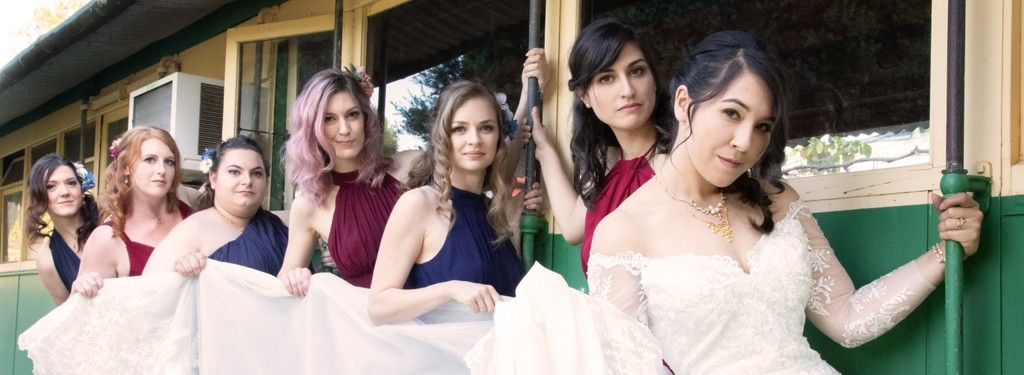 Melbourne Wedding Photographer: Bridal Party Models