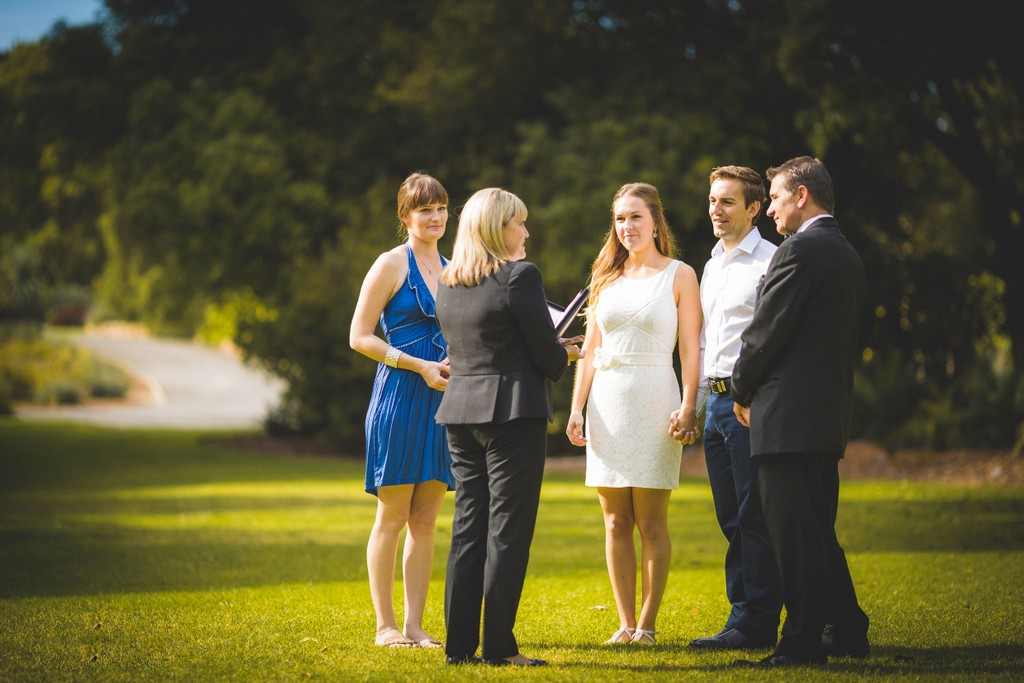 Melbourne Elopement Wedding Photography: Intimate