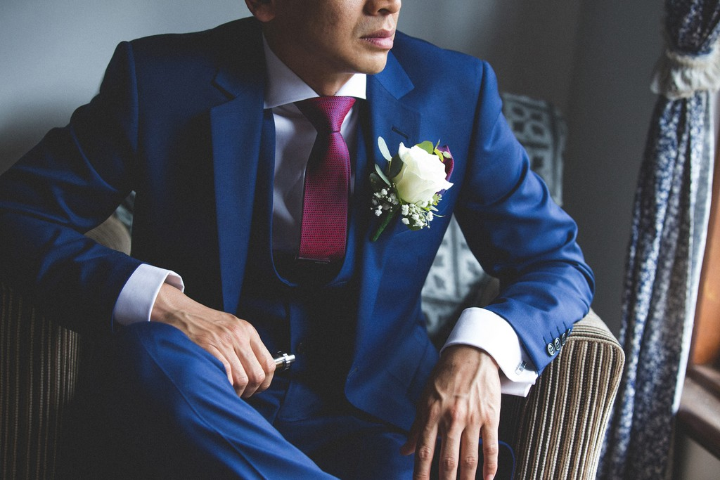 Melbourne Groom Wedding Photo: details
