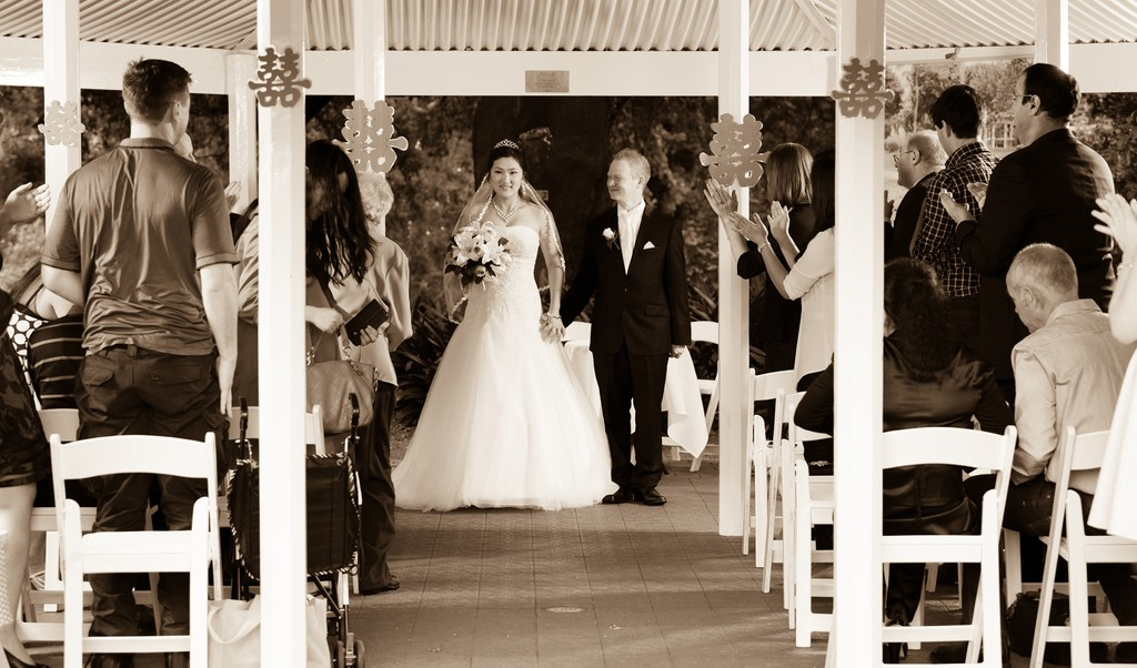Melbourne Photographer: Wedding Ceremony aisle