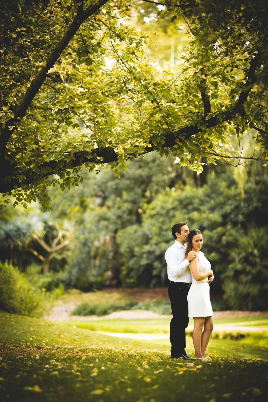 Melbourne Garden Elopement Photographer: Portrait