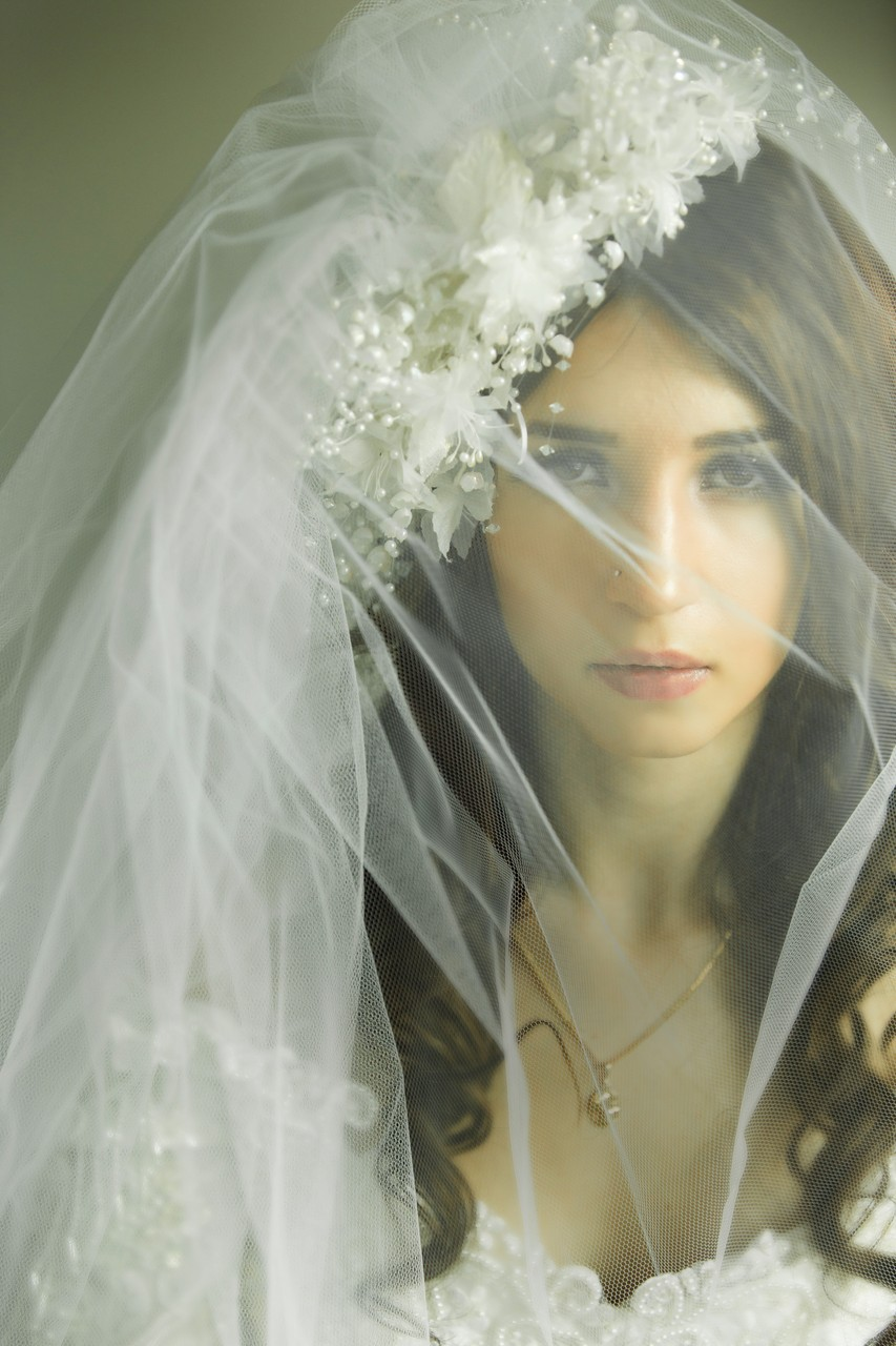 Wedding Photographer Melbourne: wedding veils