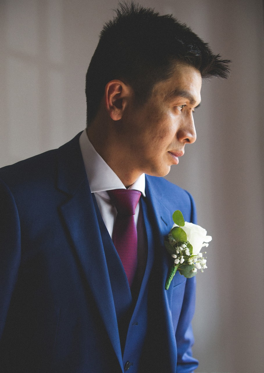 Melbourne Wedding Photography: Groom portrait
