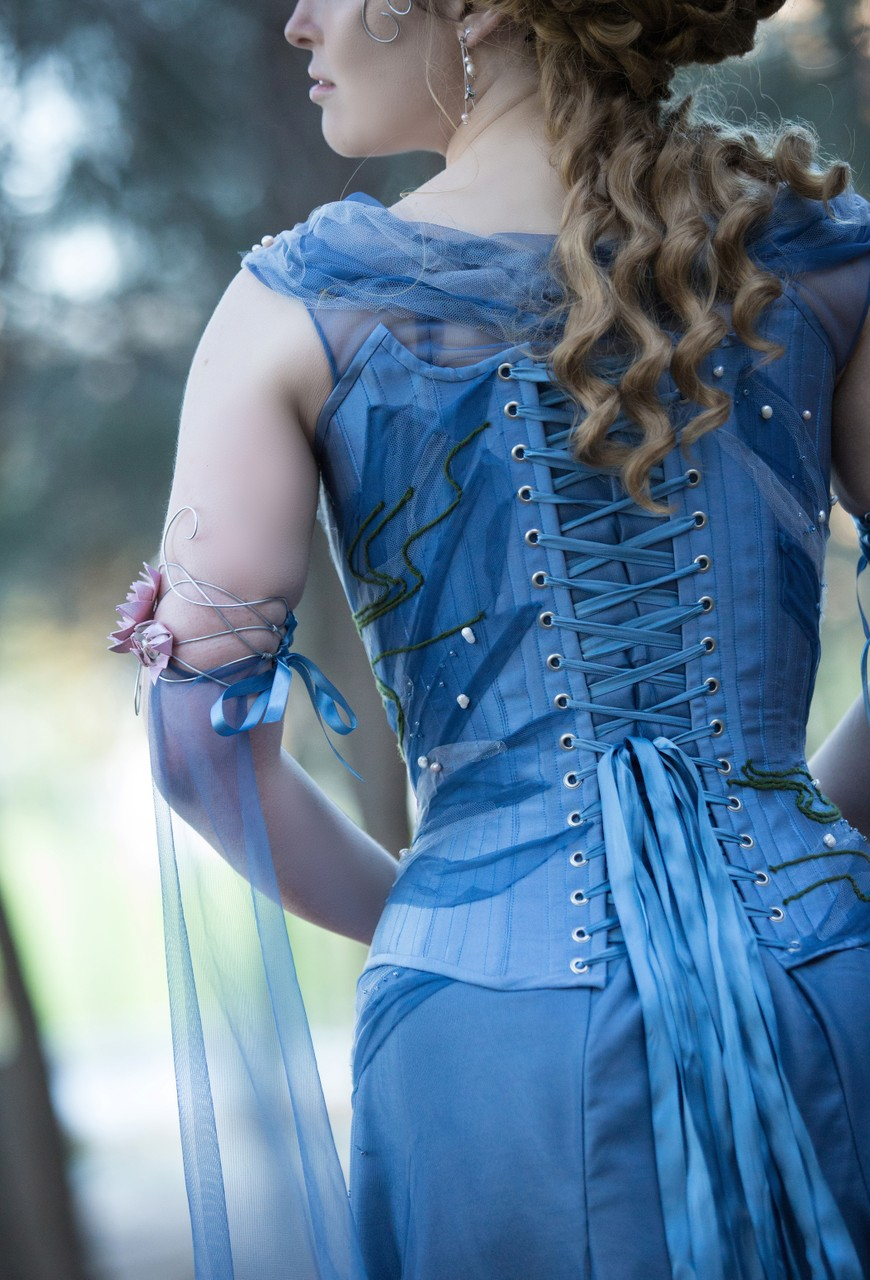 Melbourne Docklands Corset Fashion Photography