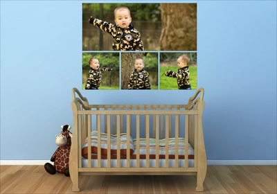 Melbourne Family Photographer Wall art collage style