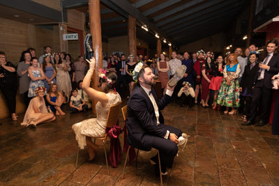 Fergusson Winery Wedding Reception Photos