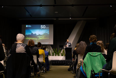 Melbourne Event Photography: keynote speaker