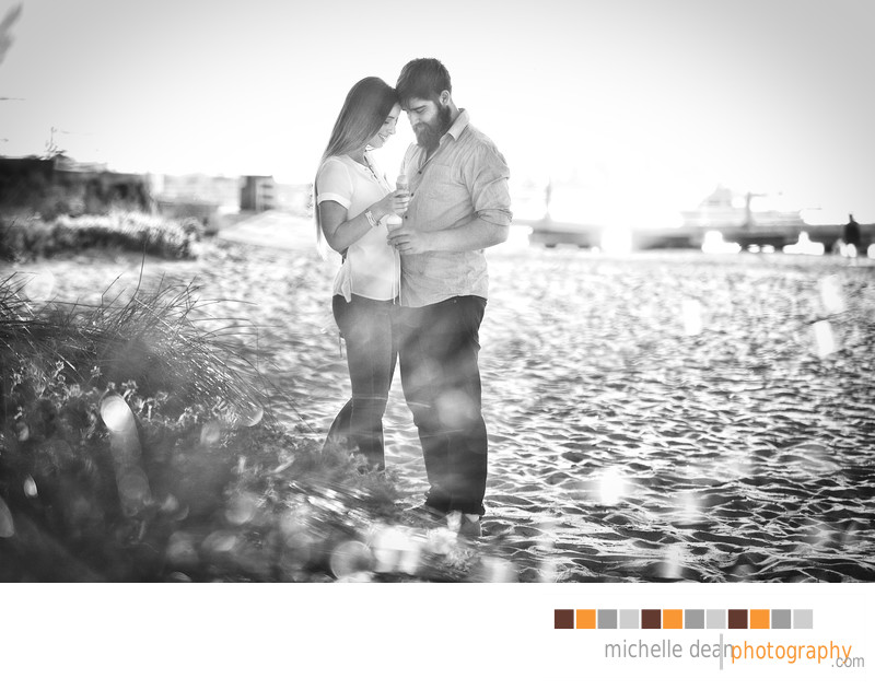 Beautiful and Romantic Couples Engagement Session Perth