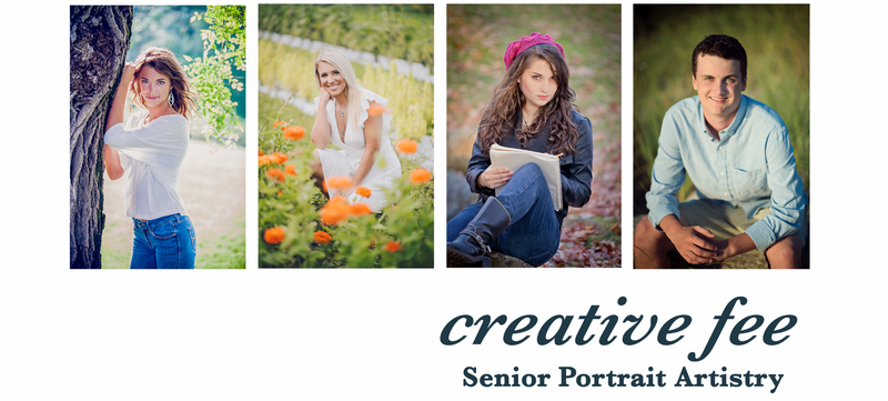 Creative Fee - Senior Portrait Investment