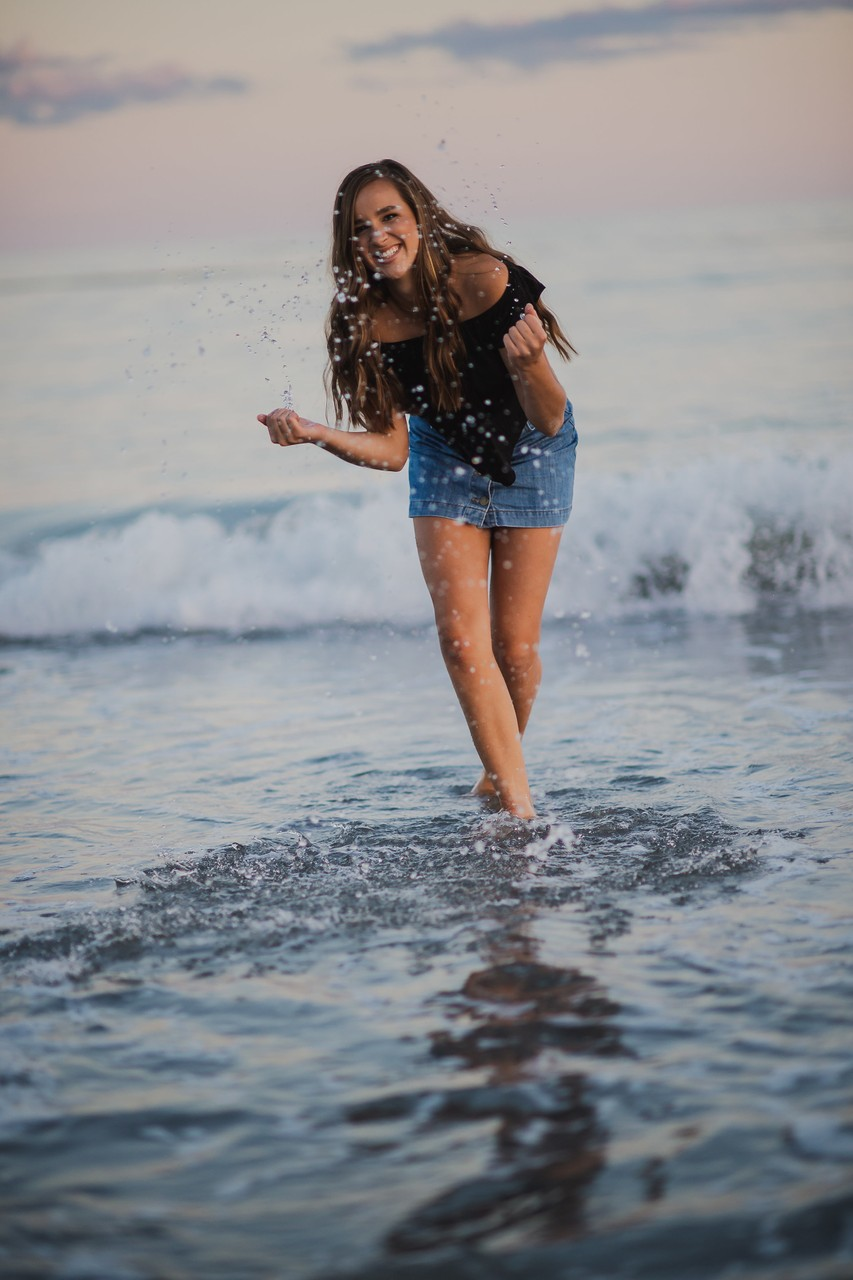 Fun Senior Pics at Scarborough Beach