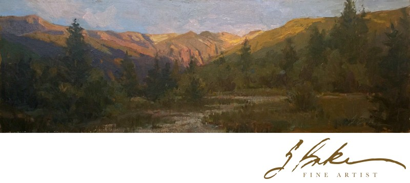 Telluride Remains of the Day, 12x36