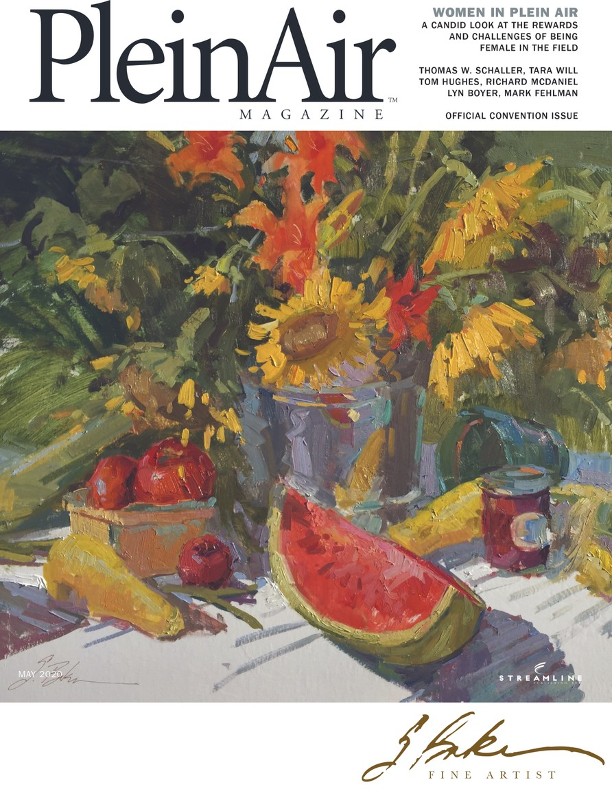 PleinAir Magazine Cover April/May 2020