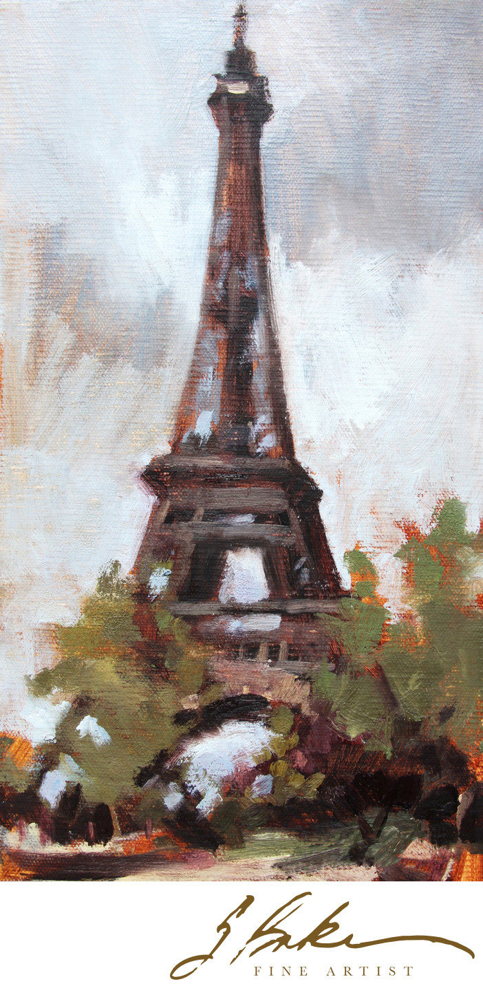 Eiffel Tower, 10 x 5