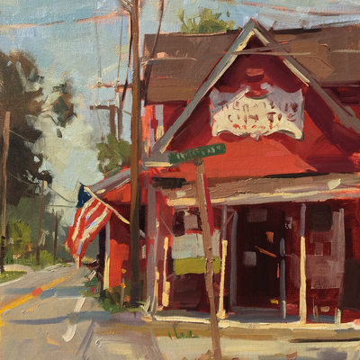 Country Store, 16x12