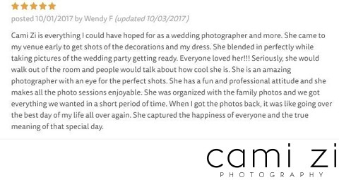 Cool Wedding Photographer