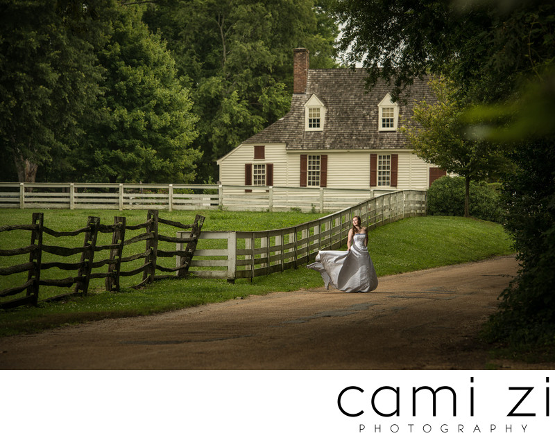 Colonial Williamsburg Bride