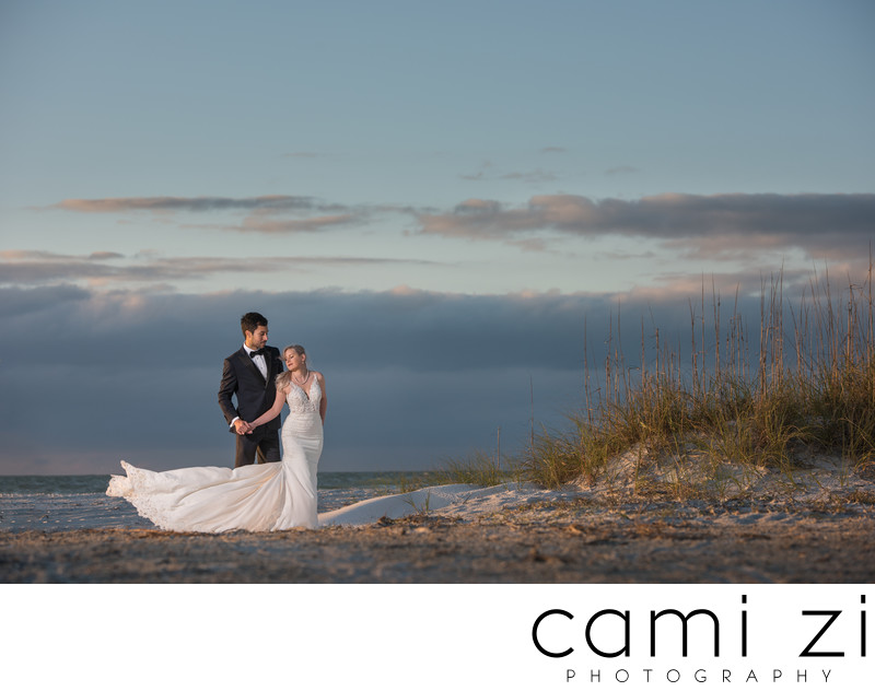 Florida Best Beach Wedding Portrait