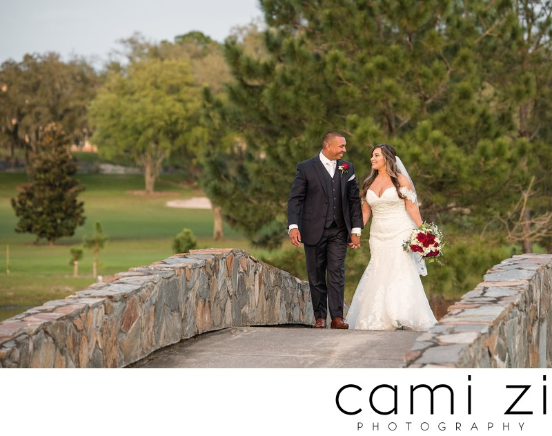 Romantic Wedding Portrait at Mission Inn Resort