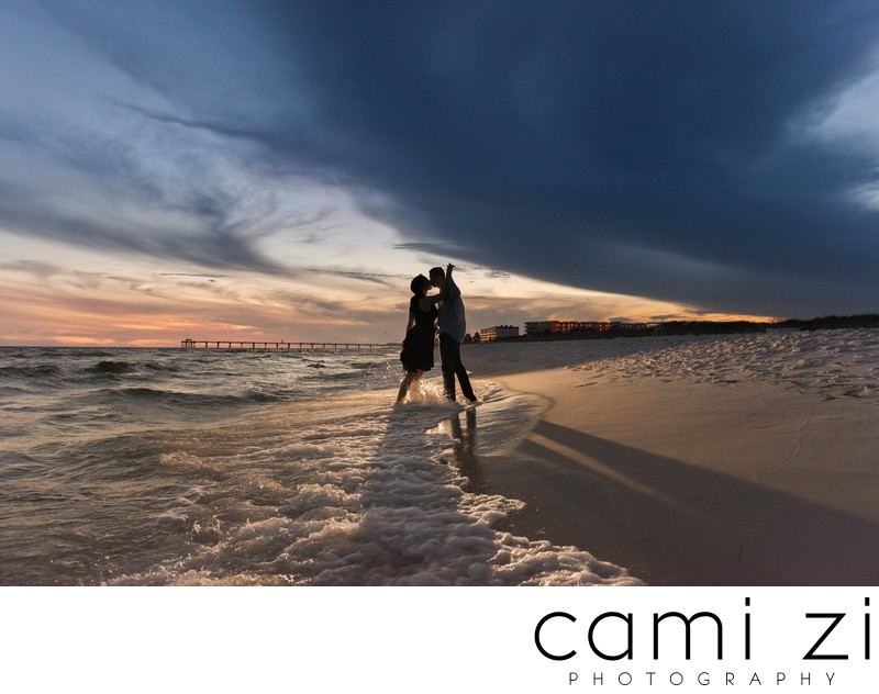 Fort Walton Beach Sunset Engagement