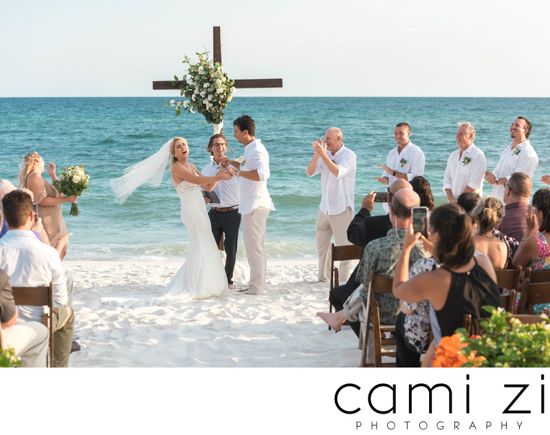Best Pensacola Beach Wedding Photographer