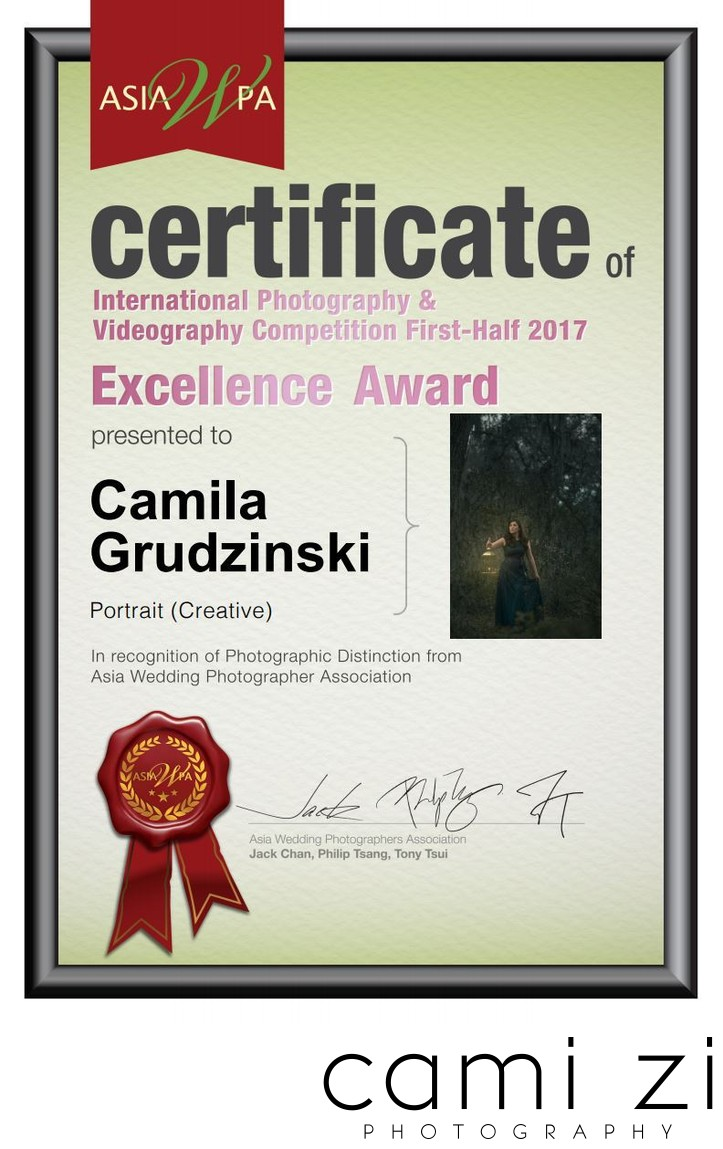 Creative Portrait Photography Excellence Award