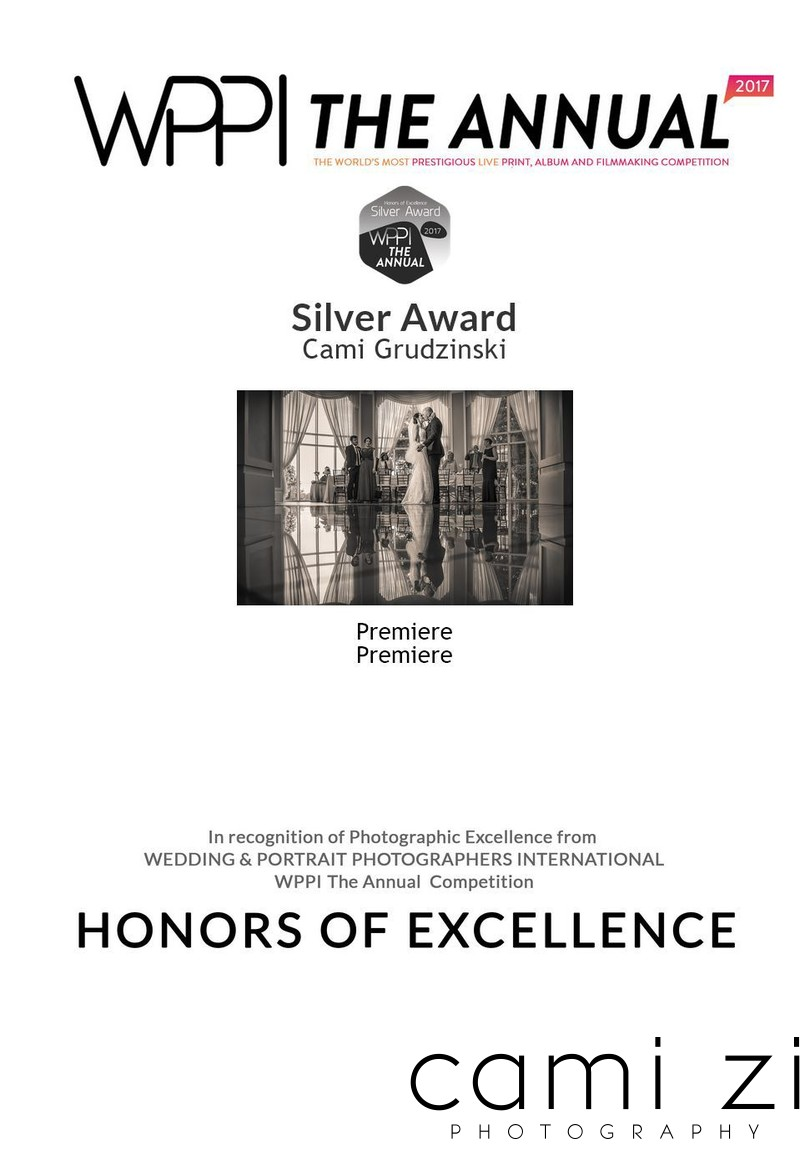 Silver Award Premiere Wedding Photography Competition