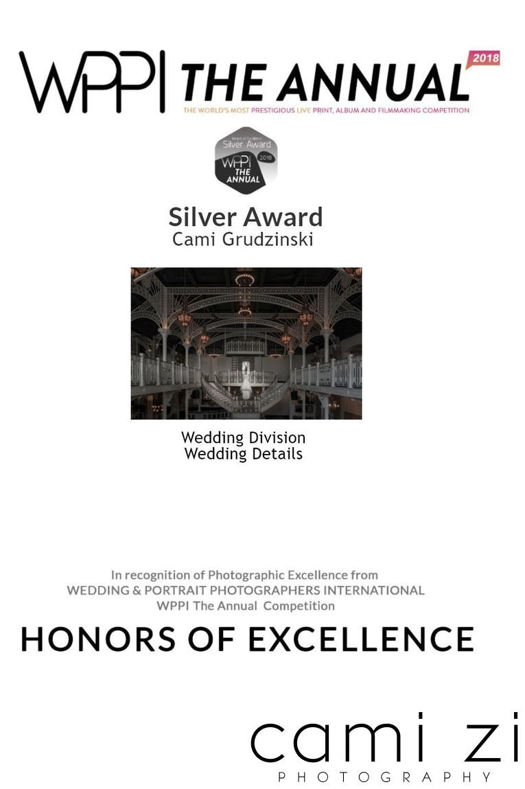 Wedding Detail Photography Silver Award - WPPI