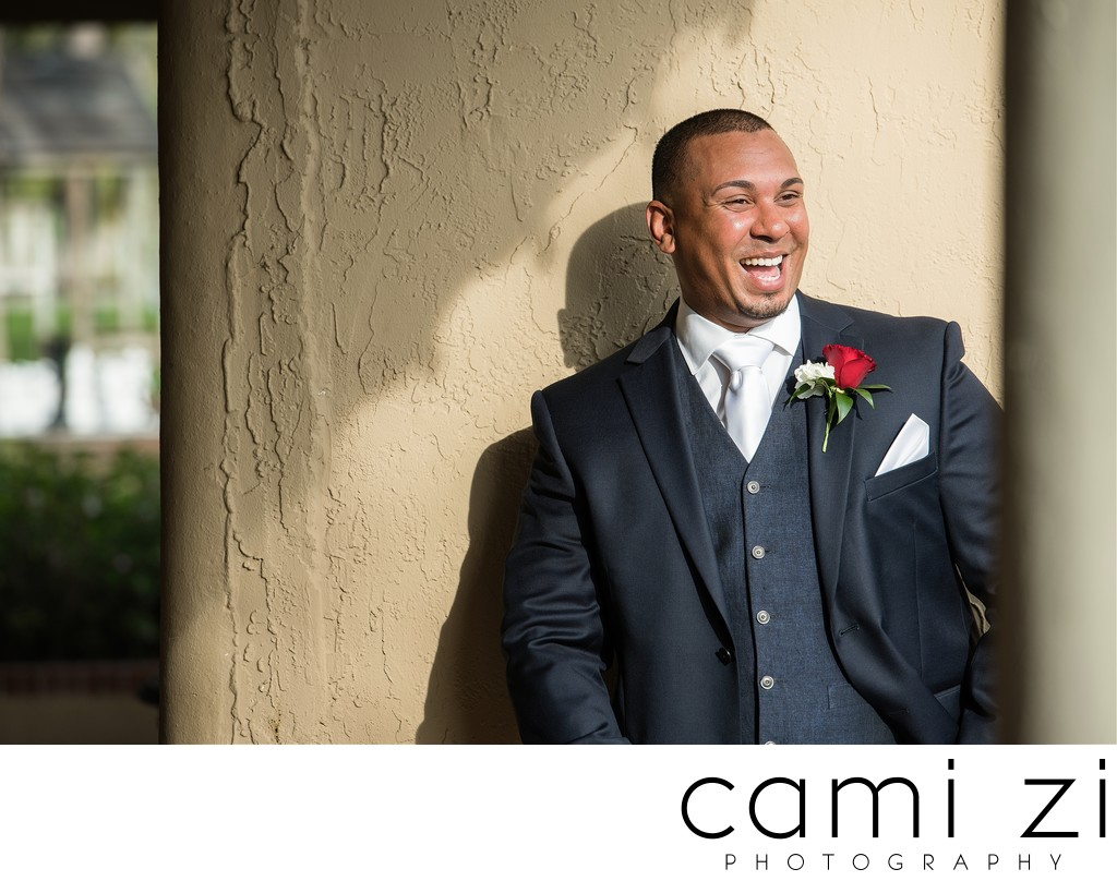 Groom Portraits at Florida Beach Weddings