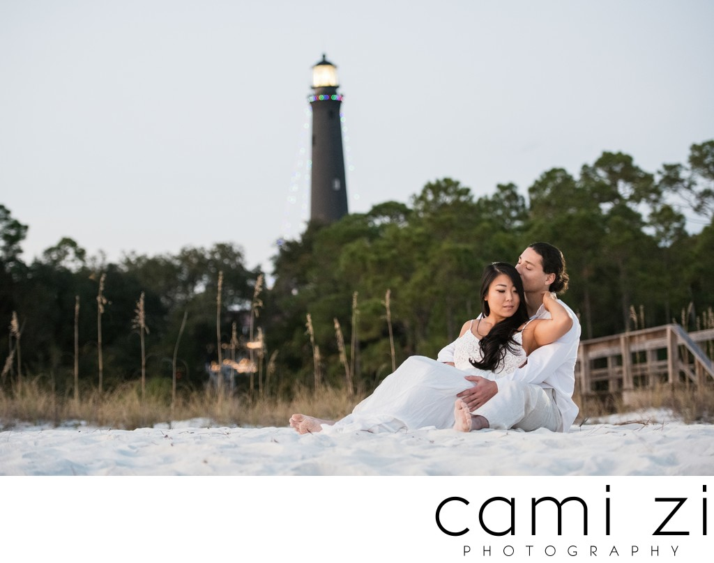 Pensacola Lighthouse Engagement