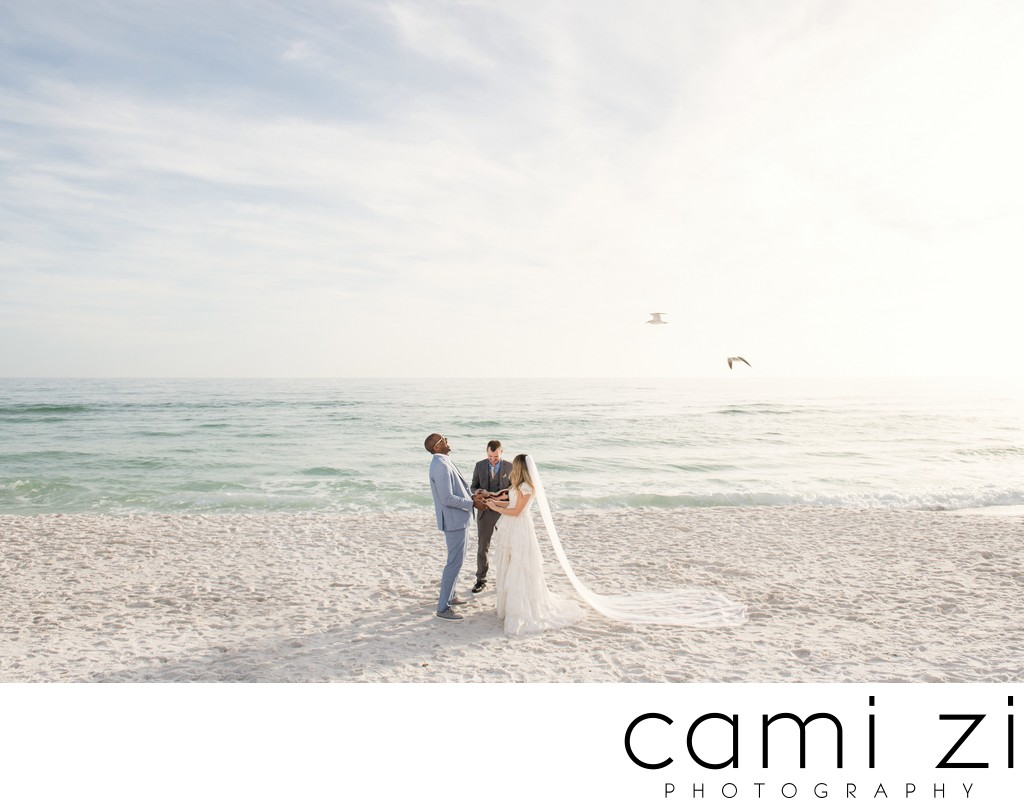 Intimate Fort Walton Beach Wedding