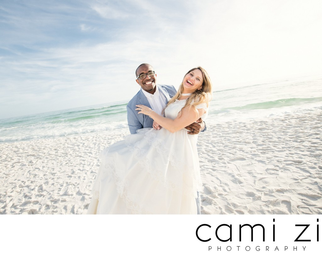Happy Wedding Photos in Pensacola