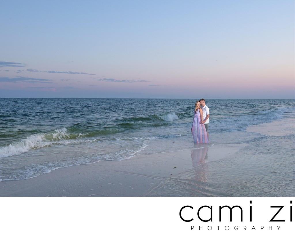 Pensacola Beach Sunset Engagement