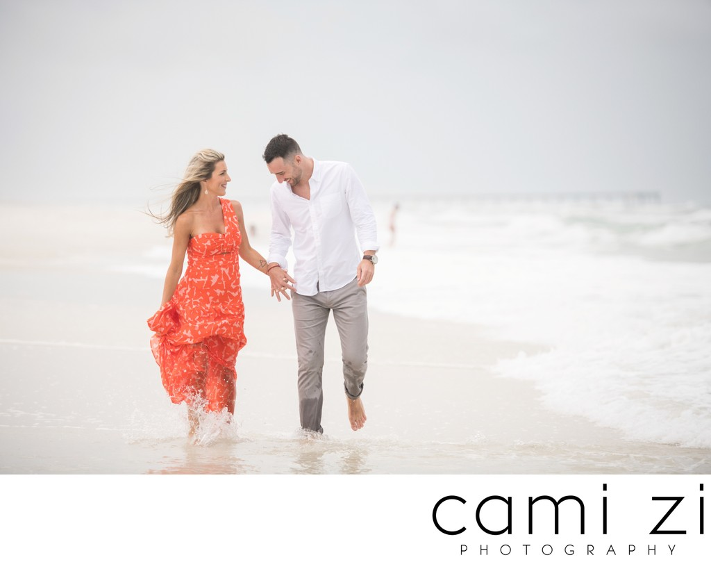 Pensacola Beach Engagement Photos