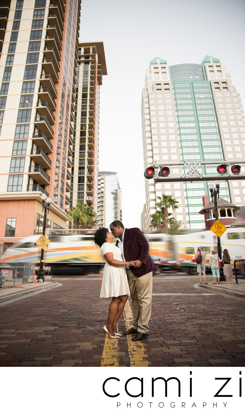 Engagement Photos in Town