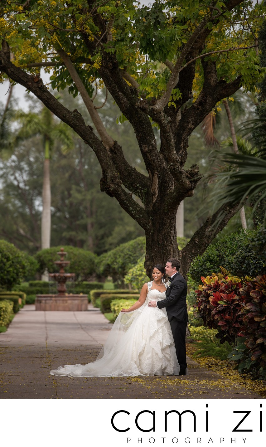 Biltmore Hotel Coral Gables Wedding Portrait