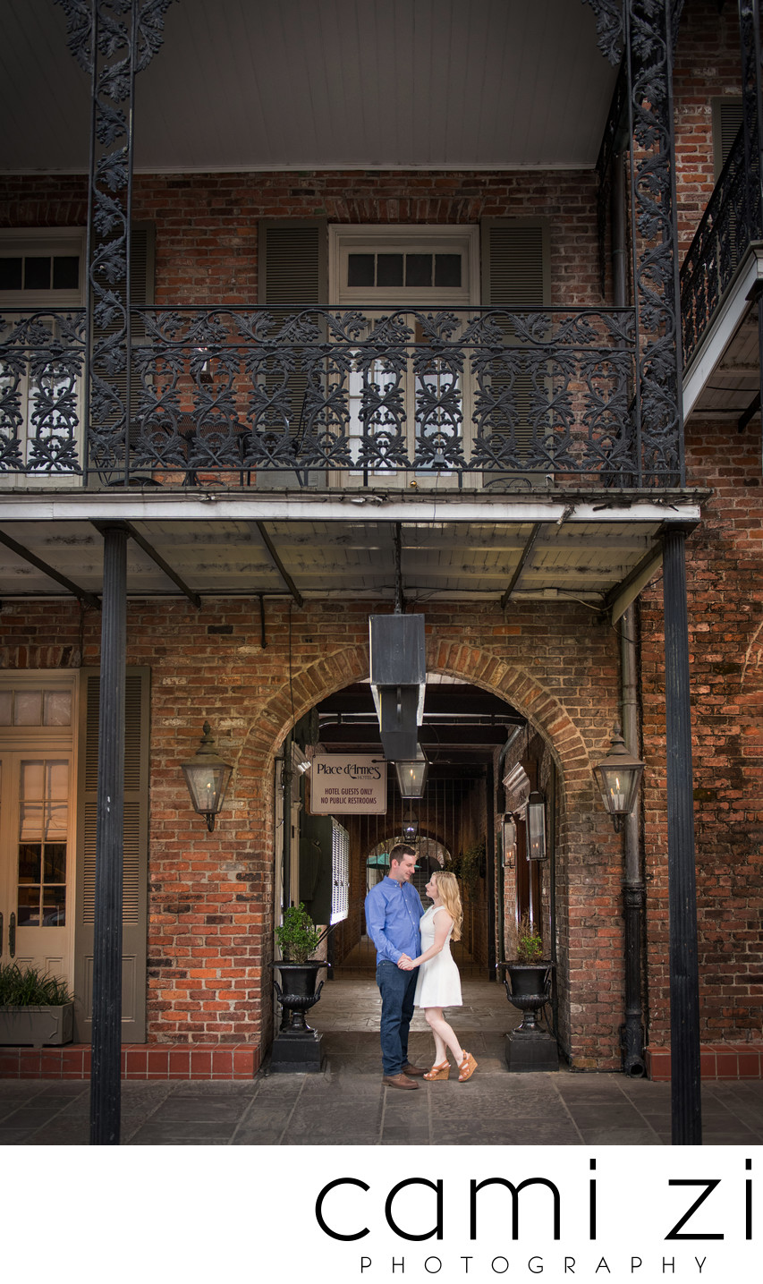 NOLA Destination Engagememt Photographer