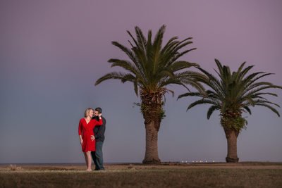 St Peterburg Sunset Engagement