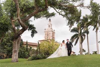 Stunning Biltmore Hotel Coral Gables Wedding