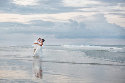 Daytona Beach Wedding Photo